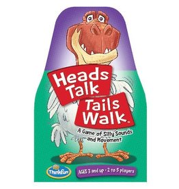 ThinkFun Heads Talk Tails Walk 3+