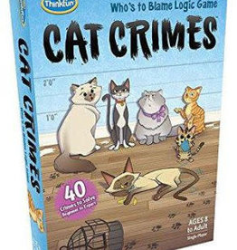 ThinkFun Cat Crimes Game