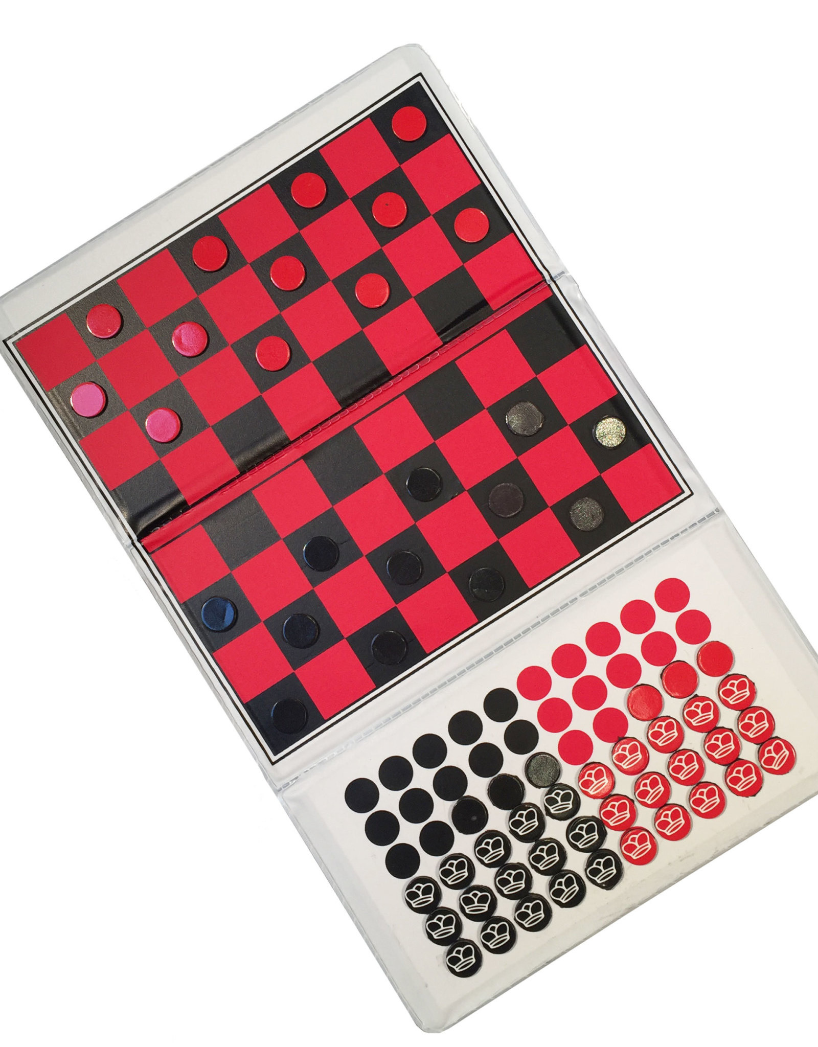 WE Games Checkbook Checkers