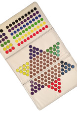 WE Games Checkbook Chinese Checkers