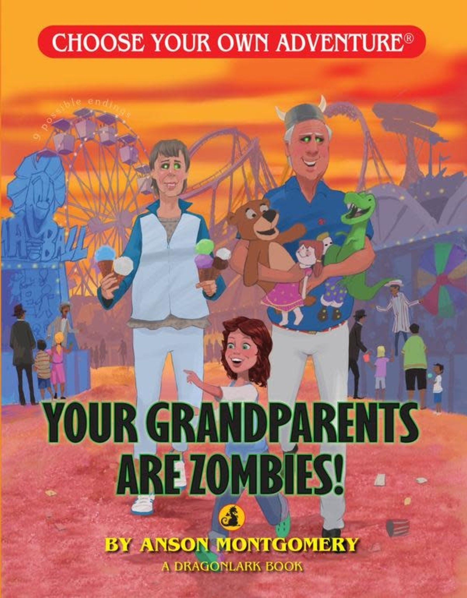 Choose Your Own Adventure CYOA Your Grandparents are Zombies
