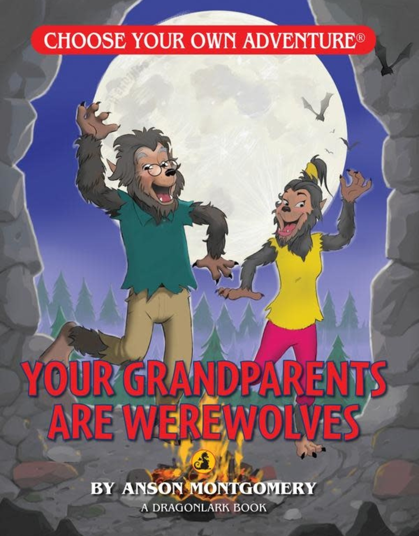 Choose Your Own Adventure CYOA Dragonlark Your Grandparents are Werewolves