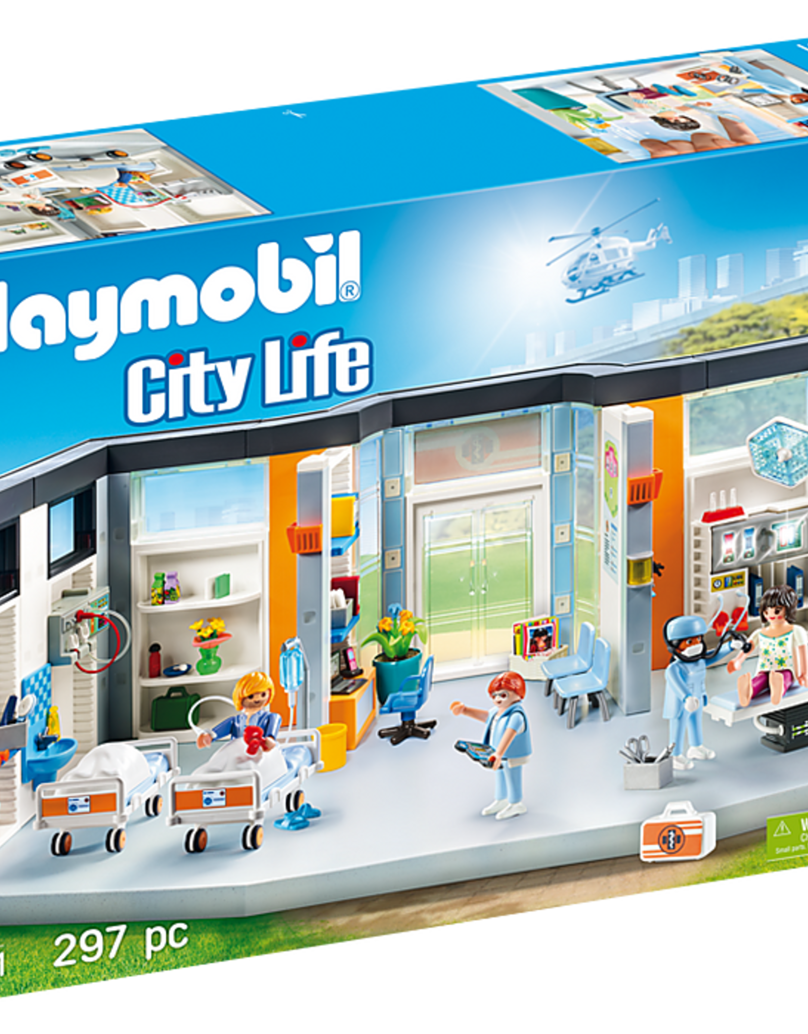 Playmobil PM Furnished Hospital Wing