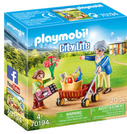 Playmobil PM Grandmother with Child