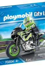 Playmobil PM Motorcycle with Rider