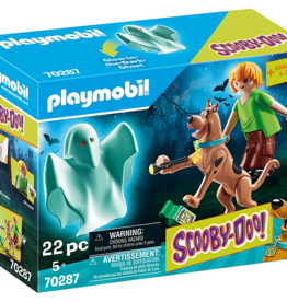 Playmobil PM SCOOBY-DOO! Scooby & Shaggy with Ghost
