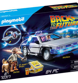 Playmobil PM Back to the Future DeLorean