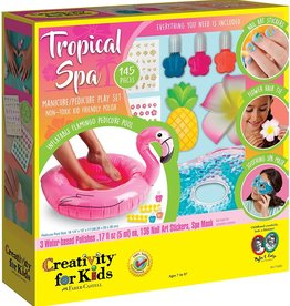 Creativity for Kids Tropical Spa with Flamingo