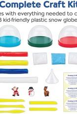 Creativity for Kids DIY Holiday Snow Globes