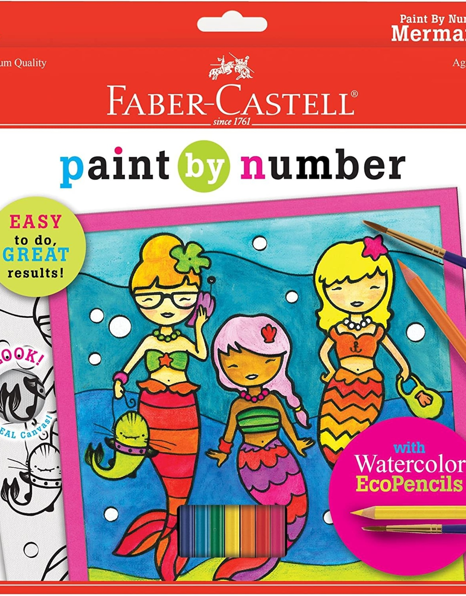 Faber-Castell Paint By Number Mermaids