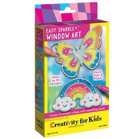 Creativity for Kids Easy Sparkle Window Art