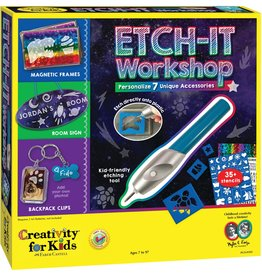 Creativity for Kids Craft Kit Etch It Workshop