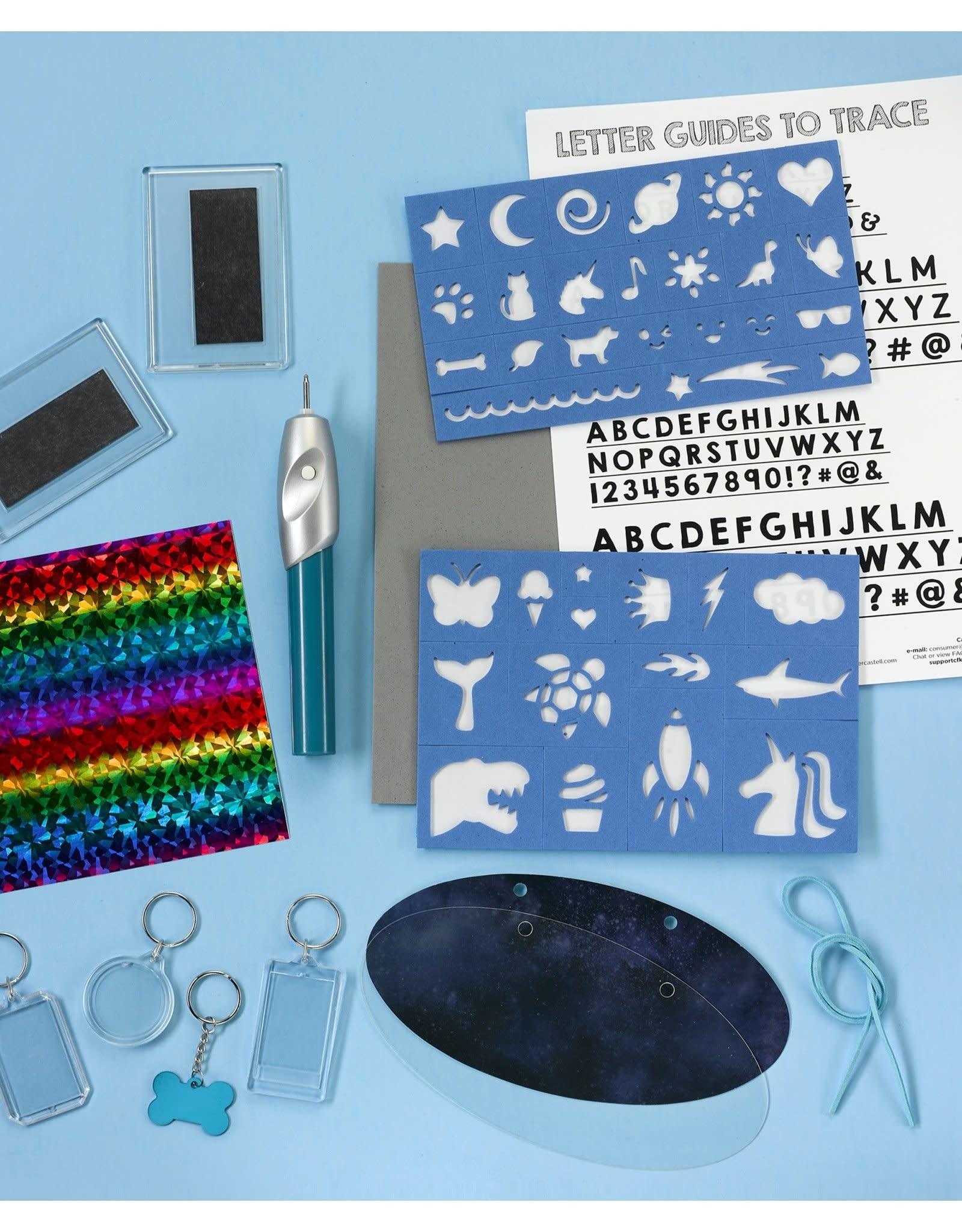 Creativity for Kids Craft Kit Etch It Workshop