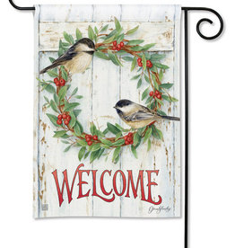 Studio M Chickadee Wreath GF