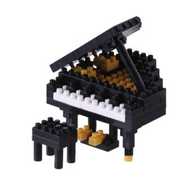 Schylling Nanoblock Grand Piano Black
