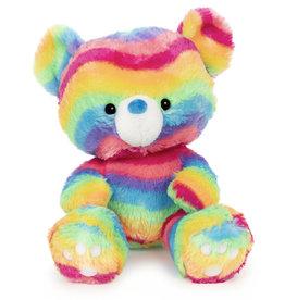 Gund Bear Kai Rainbow