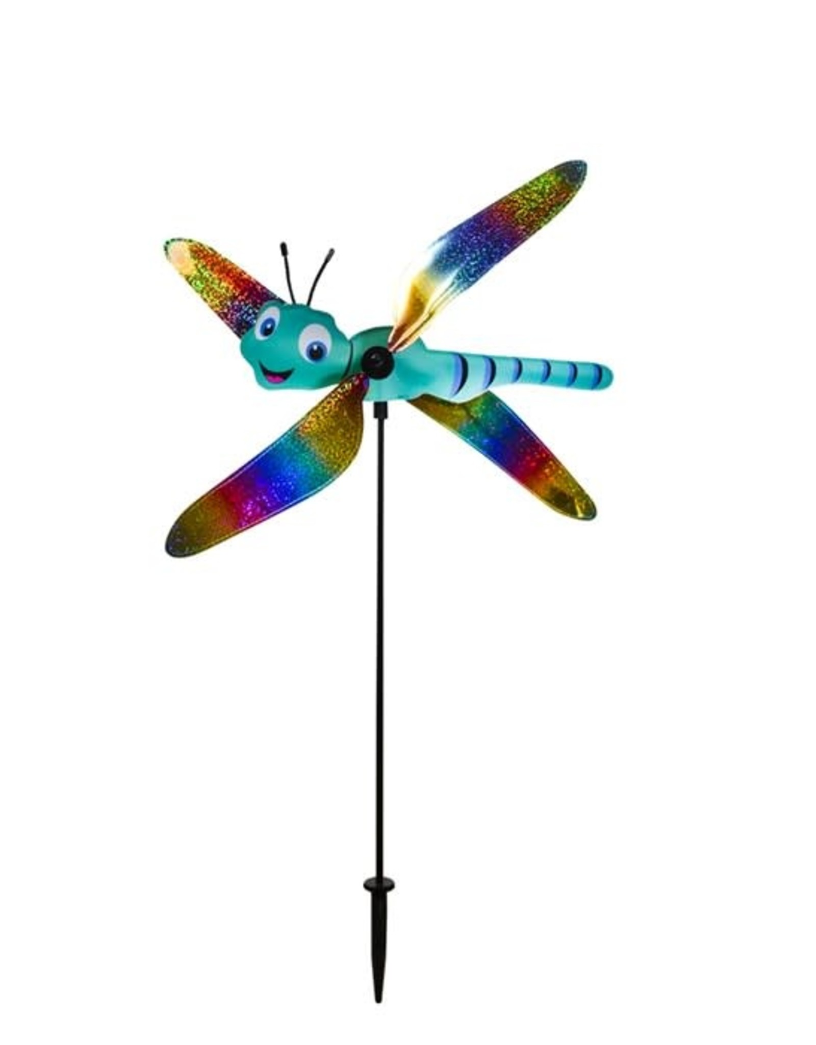 In The Breeze Ground Spinner Dragonfly