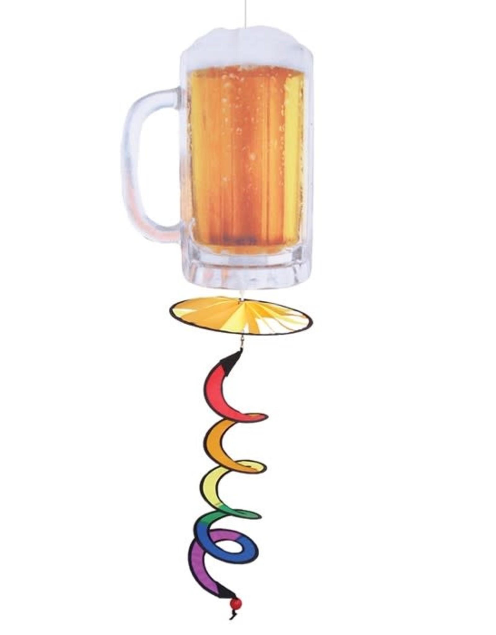 In The Breeze Beer Mug Hanging Spinner