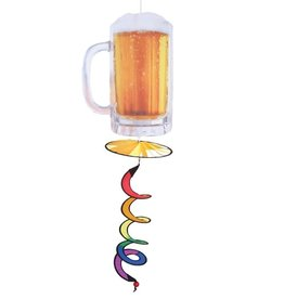 In The Breeze Beer Mug Hanging Spinner