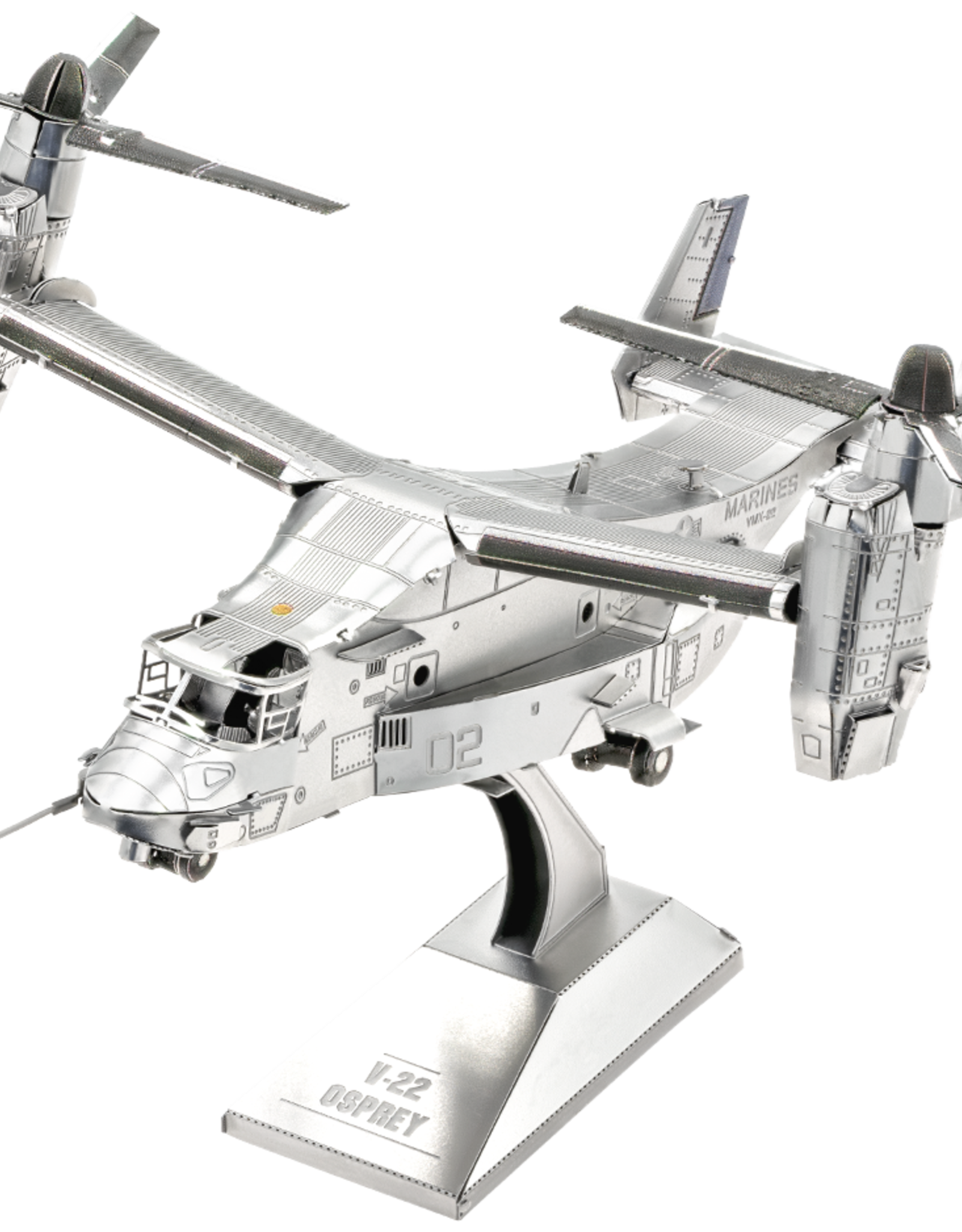 Metal Earth ME V-22 Osprey Plane