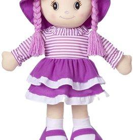 Kidoozie Rag Doll Red or Purple 24in