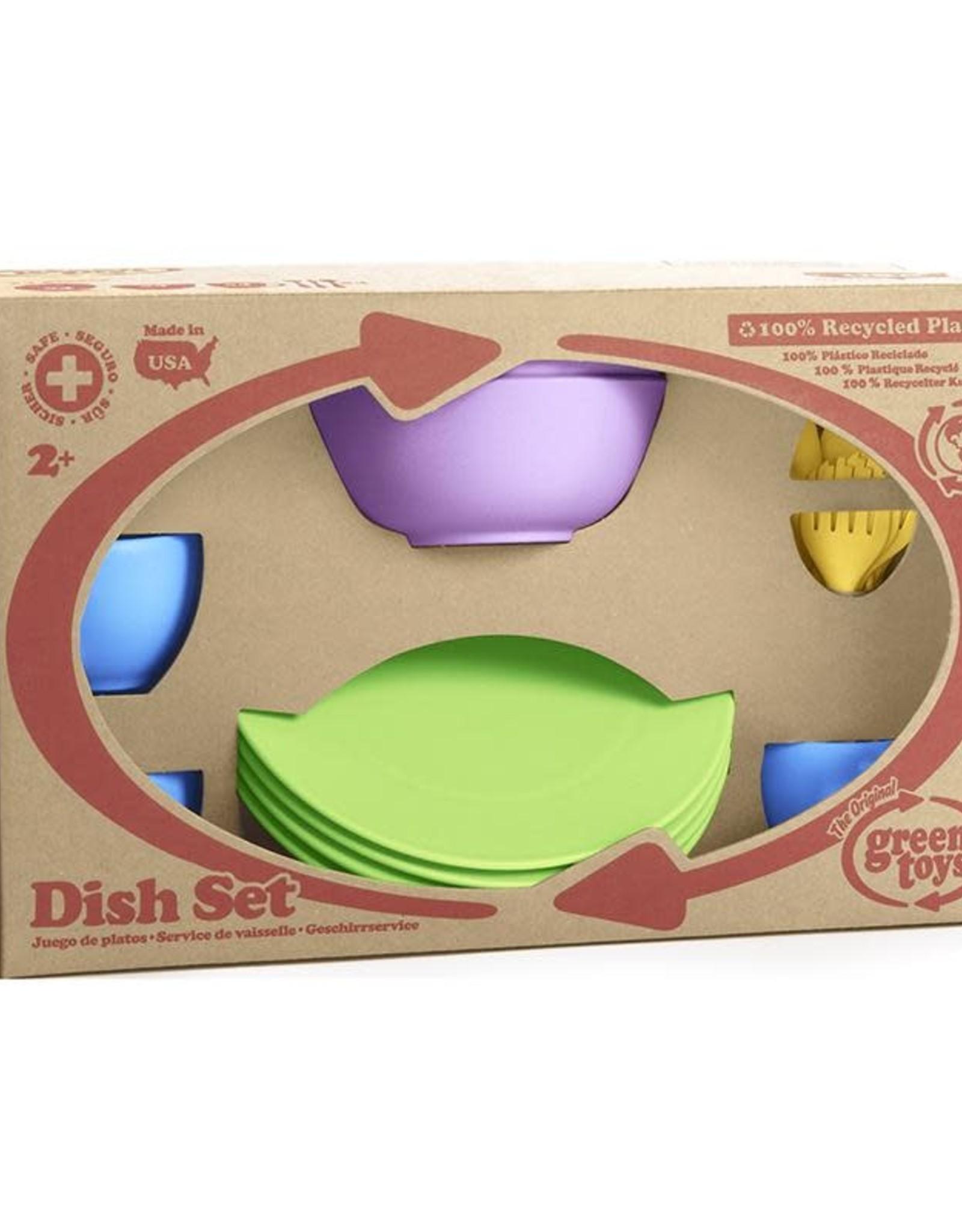 Green Toys GT Dish Set