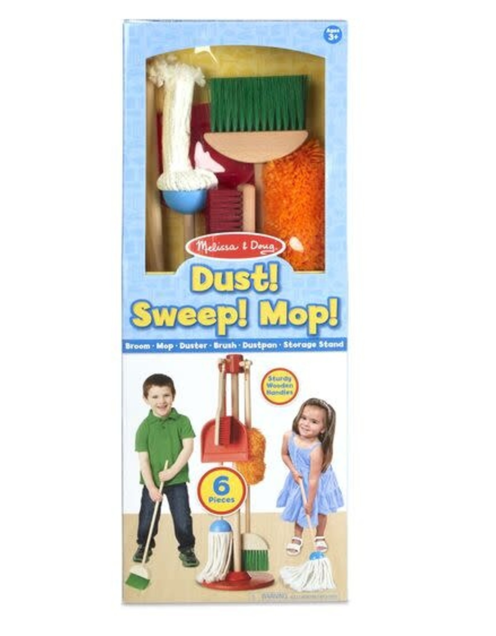 Melissa & Doug MD Let's Play House Dust Sweep Mop