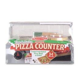 Melissa & Doug MD Pizza Counter Top & Bake Set