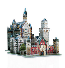 Wrebbit 890pc 3D Neuschwanstein Castle