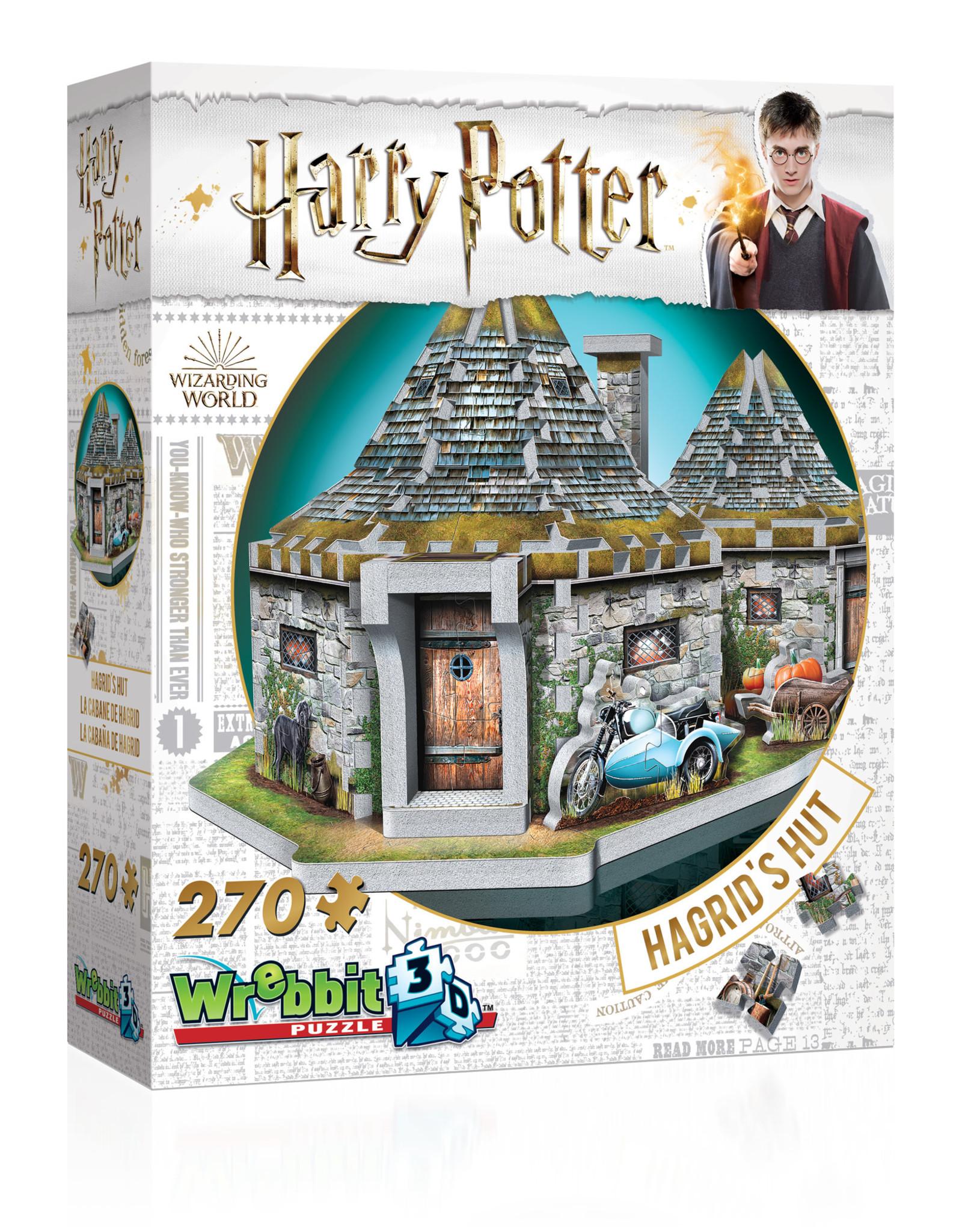 Wrebbit 270pc 3D Hagrid's Hut