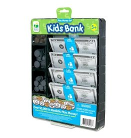 The Learning Journey Play Money Set Kids Bank