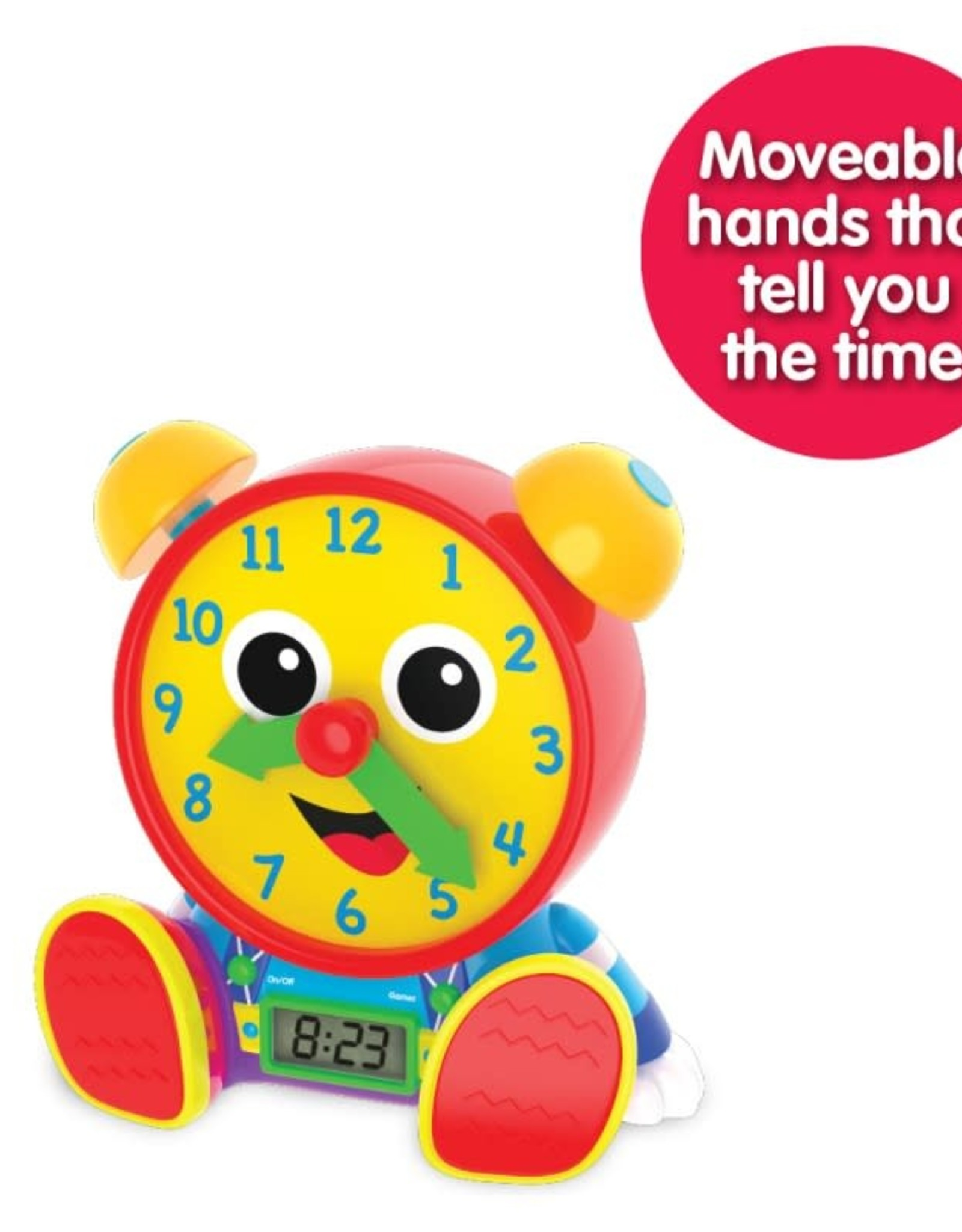 The Learning Journey Teaching Time Clocks Telly Jr.