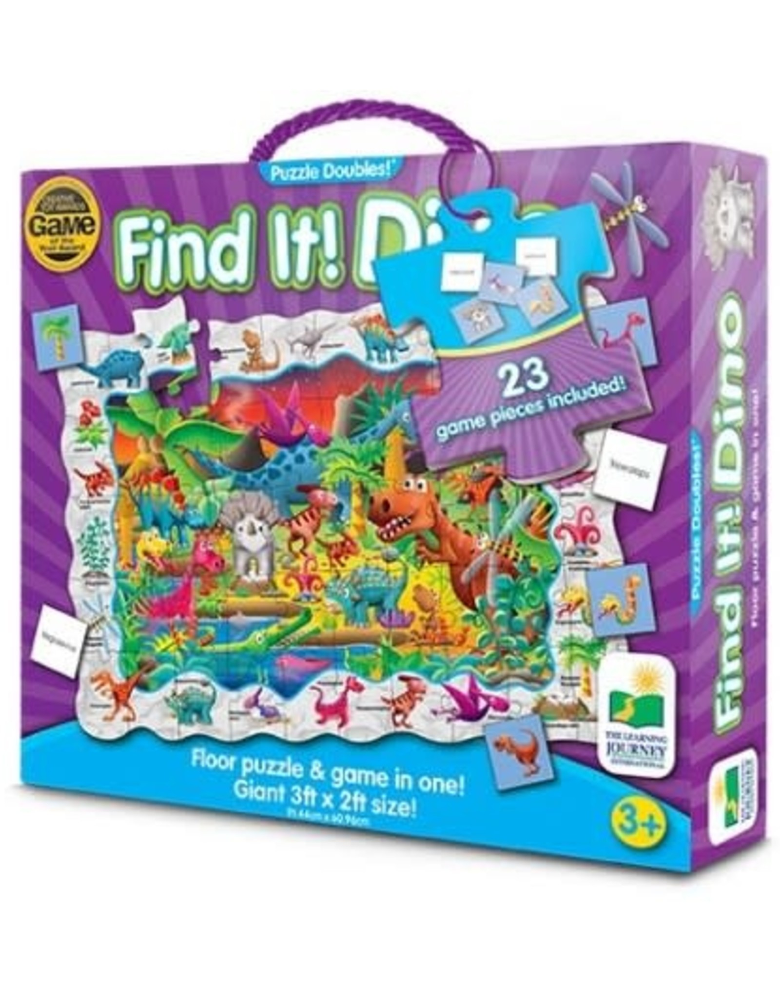The Learning Journey Puzzle Doubles - Find It! Dinosaurs