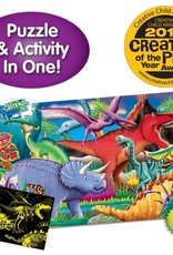 The Learning Journey Puzzle Doubles - Glow In The Dark - Dino