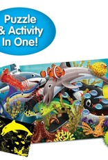 The Learning Journey Puzzle Doubles - Glow In The Dark - Sea Life