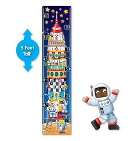The Learning Journey 51pc Puzzle Tall 123 Rocket Ship