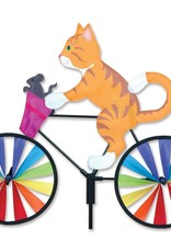 Premier Ground Spinner Kitty on Bike
