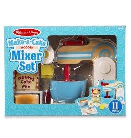 Melissa & Doug MD Wooden Cake Mixer Set