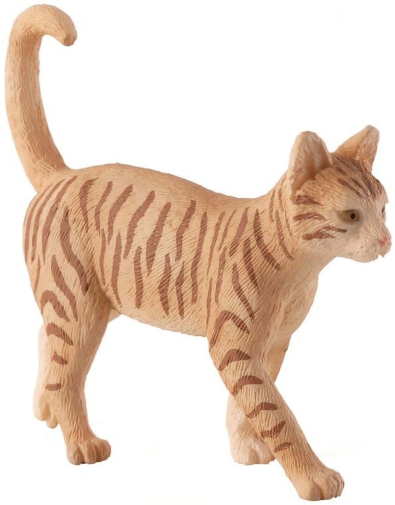 Mojo Cat Ginger Tabby Figurine