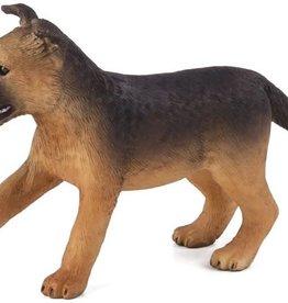 Mojo German Shepherd Puppy Figurine