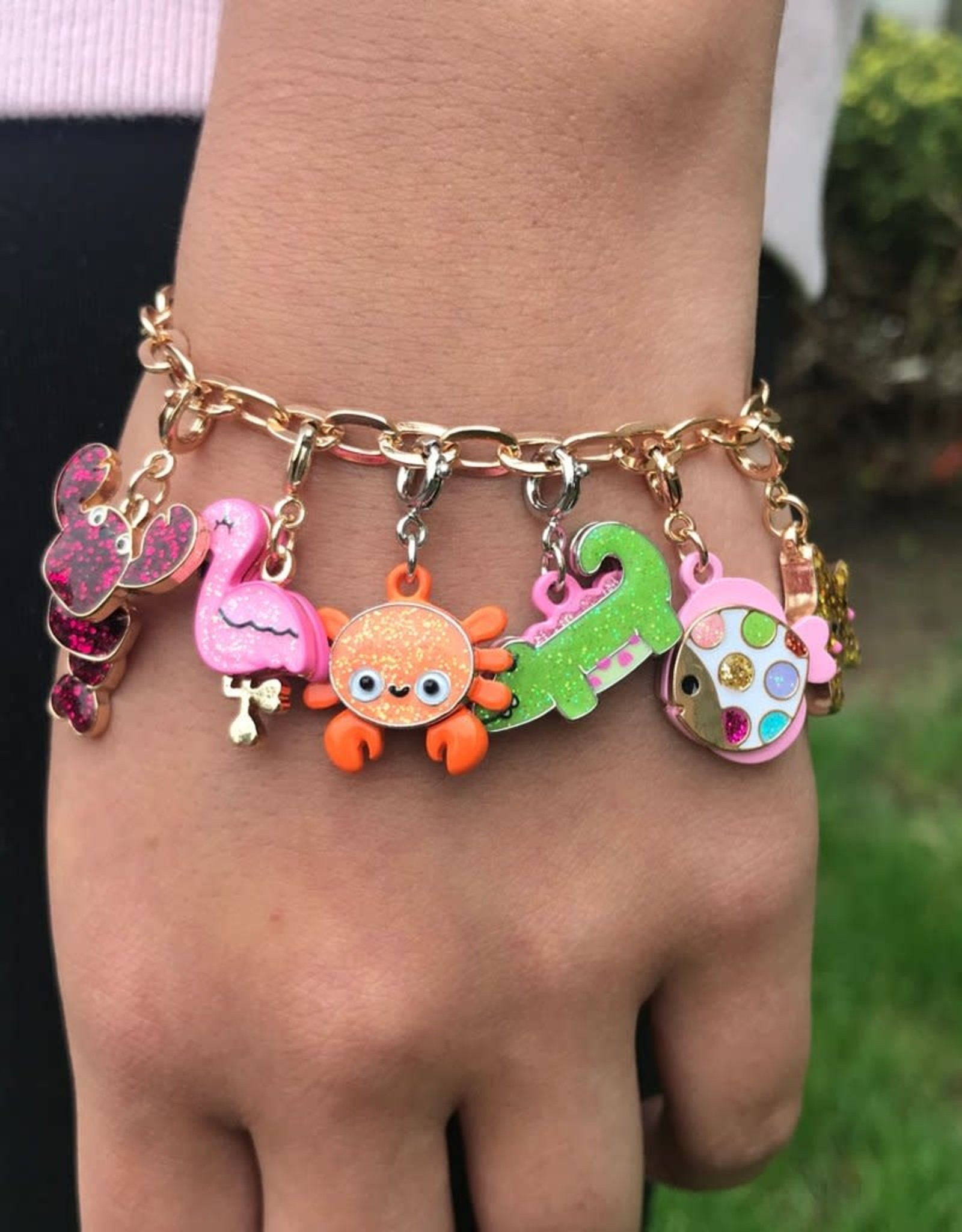 Charm It Charm Bracelet Gold Chain