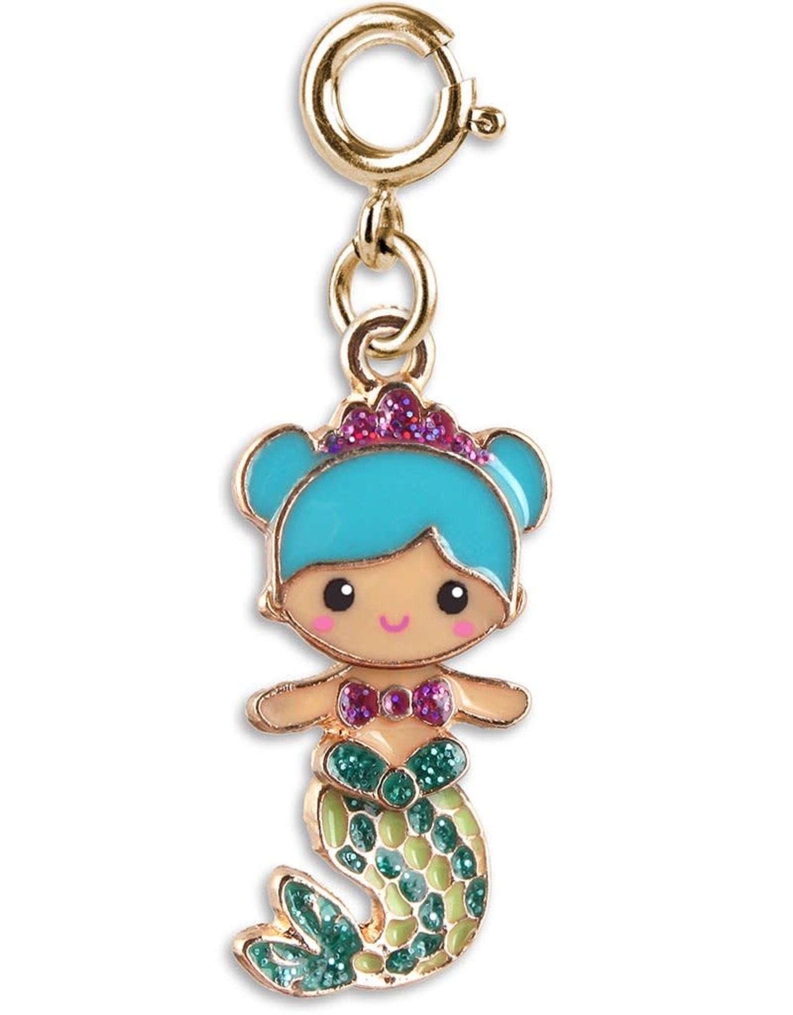 Charm It Charm Mermaid Gold Swivel