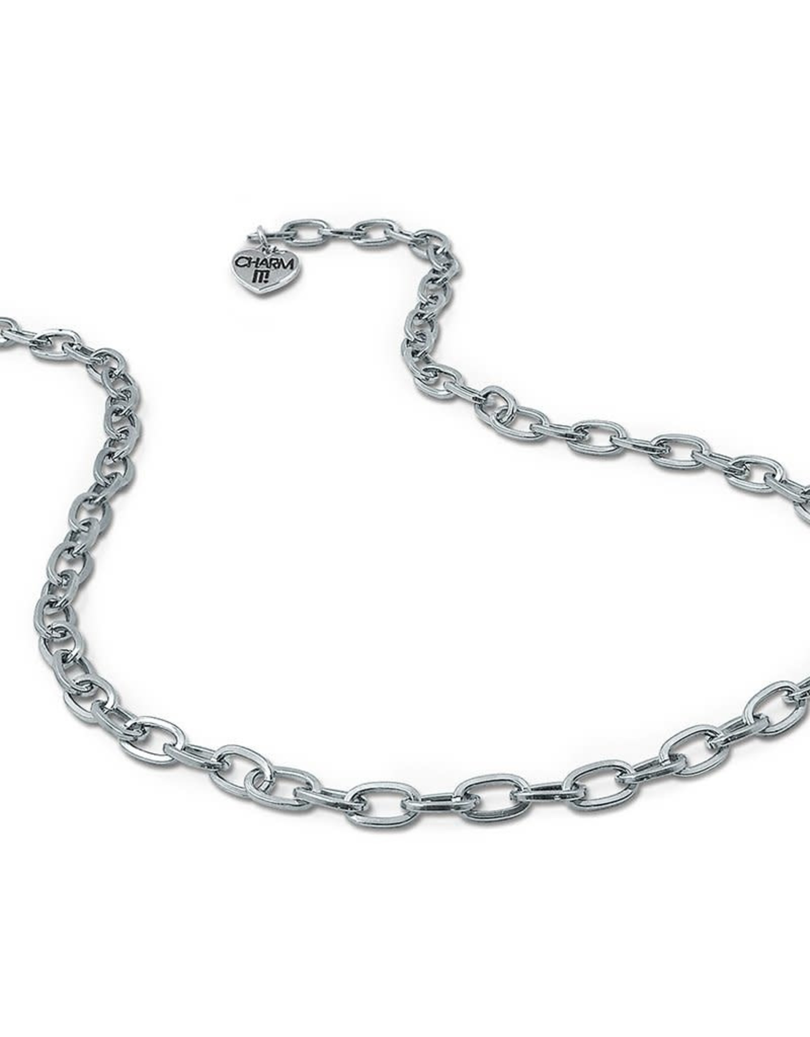 Charm It Charm Necklace Silver Chain