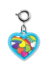 Charm It Charm Rainbow Heart Shaker