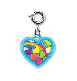 Charm It Charm Rainbow Heart Shaker