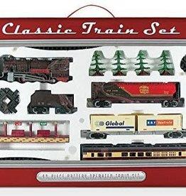 WowToyz Train Set Deluxe Classic Steam 40-pc