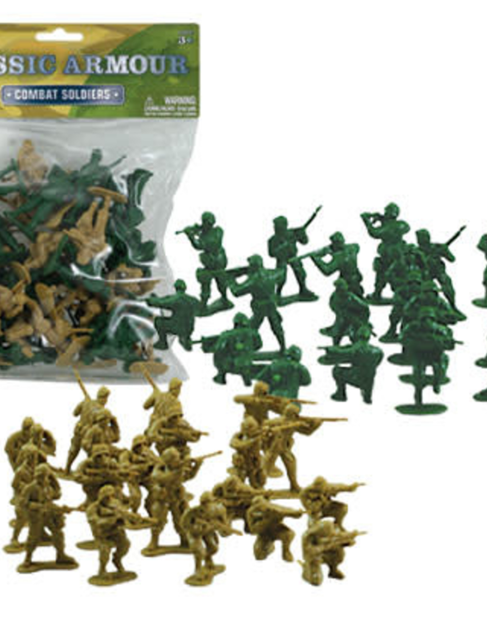 WowToyz Soldiers Combat 2 colors