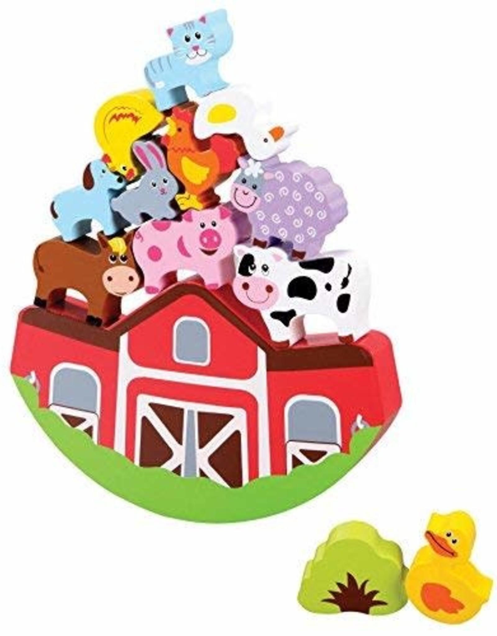 WowToyz Balancing Farm Playset