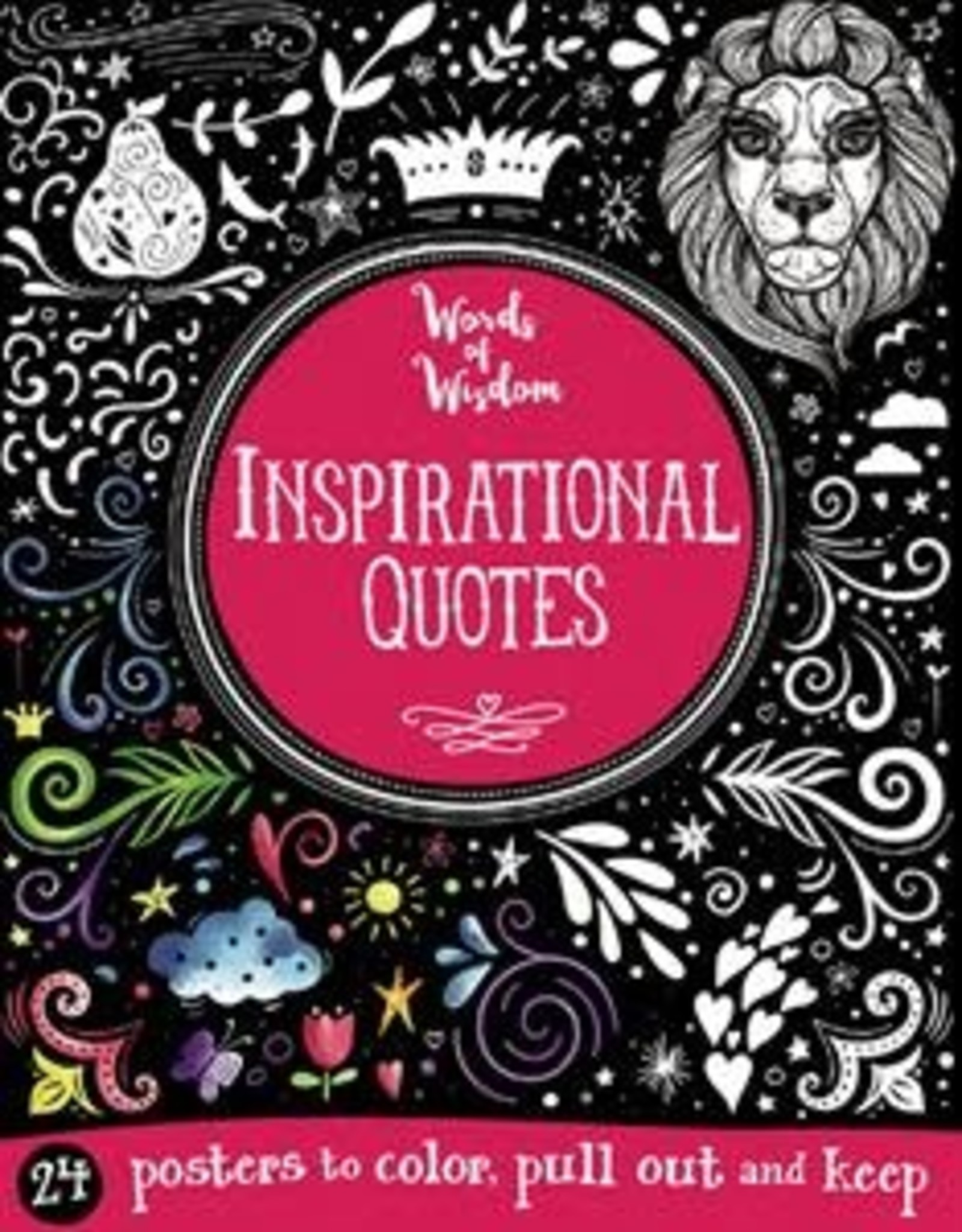 Kane Miller Inspirational Quotes Coloring  Book