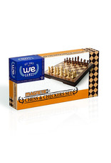 WE Games Chess Checkers Magnetic Folding Set